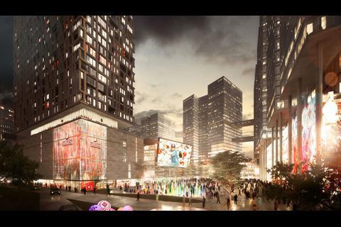 Broadway Malyan design for Bhartiya Urban in India